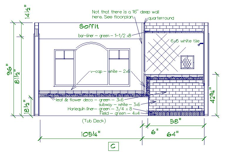 Unique Shower Tile Drawing E To Inspiration Decorating