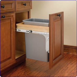 Interior Kitchen Garbage Cabinet a reader asks place for garbage in the kitchen rv 4wctm 1516dm 1 l