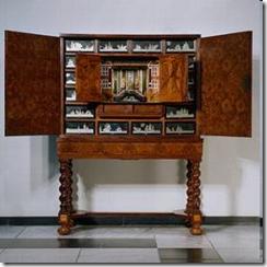 17th Century Cabinet Of Curiosities Via The Rijksmuseum