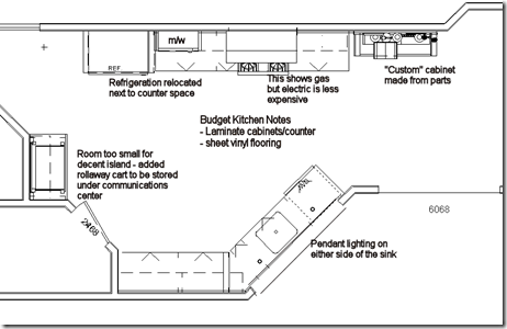 Budget Kitchen Floor Plan